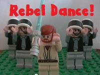 Lego Star Wars - Rebel Dance