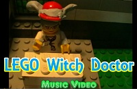 Lego Witch Doctor - Music Video
